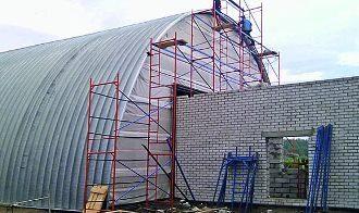 Строительство ангаров в Воронеже