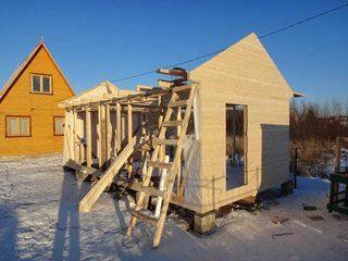 Строительство русской бани