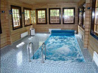 Строительство бани с бассейном в Воронеже