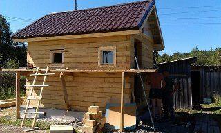 Строительство саун под ключ в Воронеже