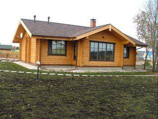 Проекты одноэтажных домов из бревна в Воронеже