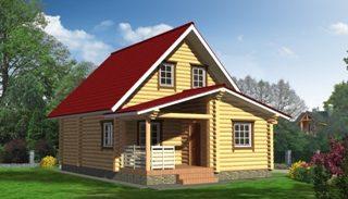 Проекты домов из бревна в Воронеже