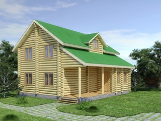 Проекты домов из бревна 5х7 в Воронеже