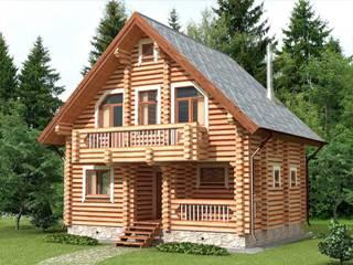Проекты домов 7х7 из оцилиндрованного бревна в Воронеже