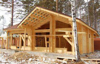 Проекты домов из бруса 7x12