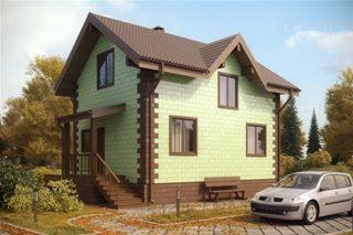 Проекты домов из кирпича 6х7 в Воронеже