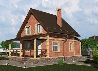 Проекты домов из кирпича 6х8 в Воронеже