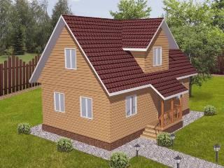 Проекты домов из кирпича 6х9 в Воронеже