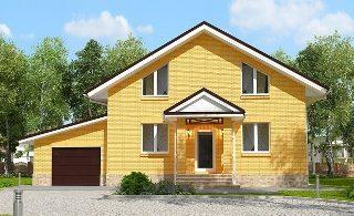 Проекты домов из кирпича 6х12 в Воронеже