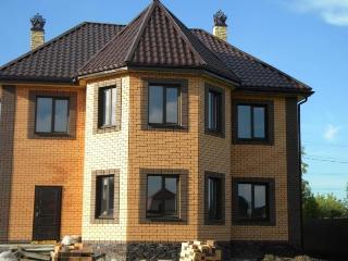 Проекты домов из кирпича 7х9 в Воронеже