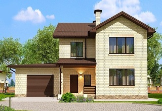 Проекты домов из кирпича 7х10 в Воронеже