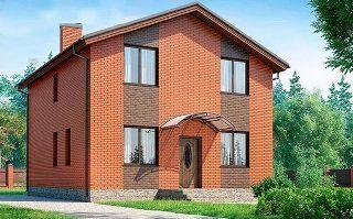 Проекты домов из кирпича 8х8 в Воронеже