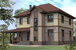Проекты домов из кирпича 8х10 в Воронеже