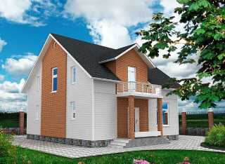 Проекты домов из кирпича 9х9 в Воронеже