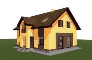 Проекты домов из кирпича 9х12 в Воронеже