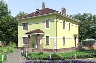 Проекты домов из кирпича 10х10 в Воронеже