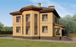 Проекты домов из кирпича 12х12 в Воронеже