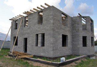 Строительство домов из опилкобетона в Воронеже под ключ
