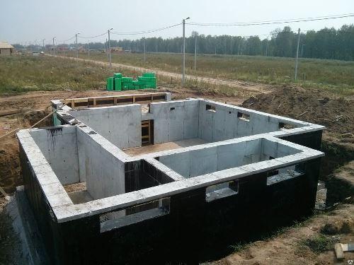 Строительство цокольного фундамент в Воронеже