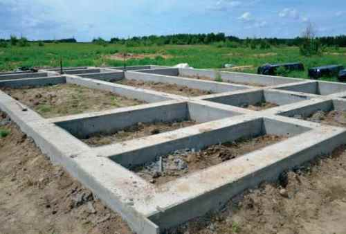 Мелкозаглубленный фундамент в Воронеже