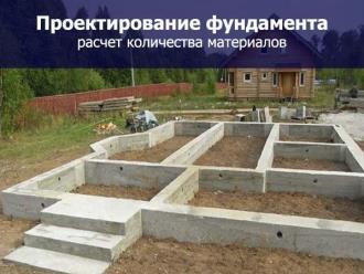Проектирование фундамента дома в Воронеже