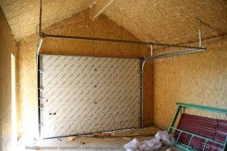 Строительство гаража из СИП-панелей