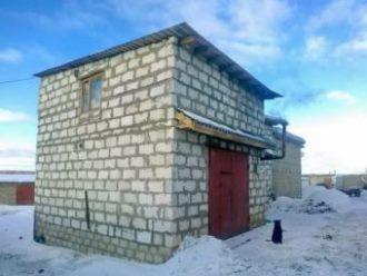 Строительство гаража из газобетона в Воронеже