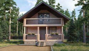 Строительство дома с мансардой в Воронеже