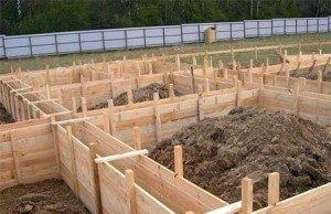 Строительство ленточного фундамента в Воронеже