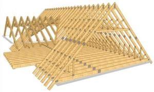 Строительство крыши дома в Воронеже