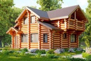 Строительство домов из сруба под ключ в Воронеже