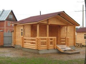 Строительство деревянных бань под ключ в Воронеже