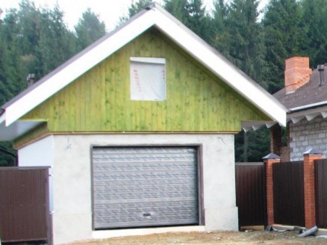 форум наружная отделка гаража из газобетонных блоков