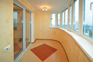 Ремонт балкона под ключ в Воронеже