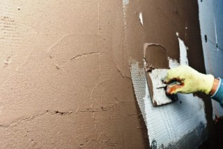 Фото процесса Штукатурка стен в Воронеже