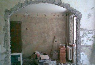 Фото процесса Перепланировка стен в Воронеже