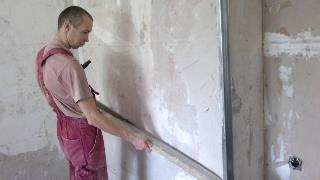 Фото процесса Выравнивание стен в Воронеже