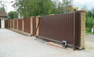 Откатные ворота под ключ в Воронеже