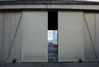 Откатные ворота гаражные в Воронеже