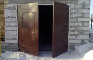 Гаражные распашные ворота в Воронеже