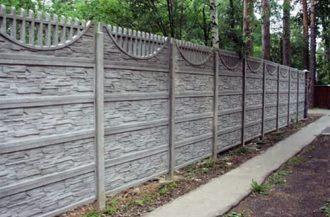Бетонные заборы под ключ в Воронеже