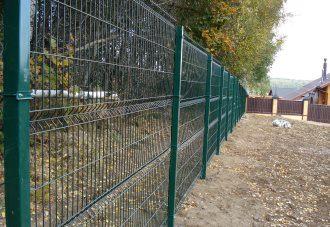 Забор из сетки гиттер (gitter) в Воронеже