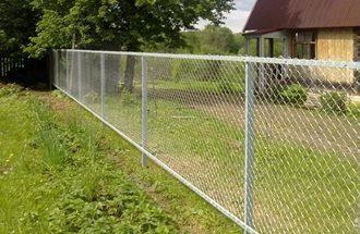 Забор из сетки рабицы в Воронеже