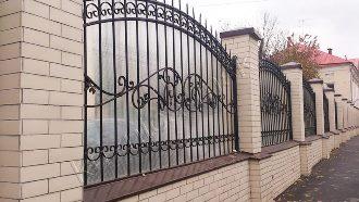 Кованые заборы с установкой в Воронеже