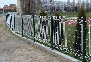 Забор из сетки Гиттер в Выборге
